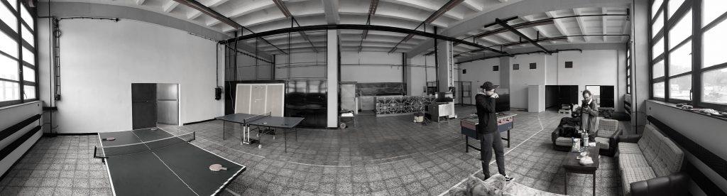 Centrum voľného času Hangar klub - Takto vyzeral priestor v Merine pôvodne